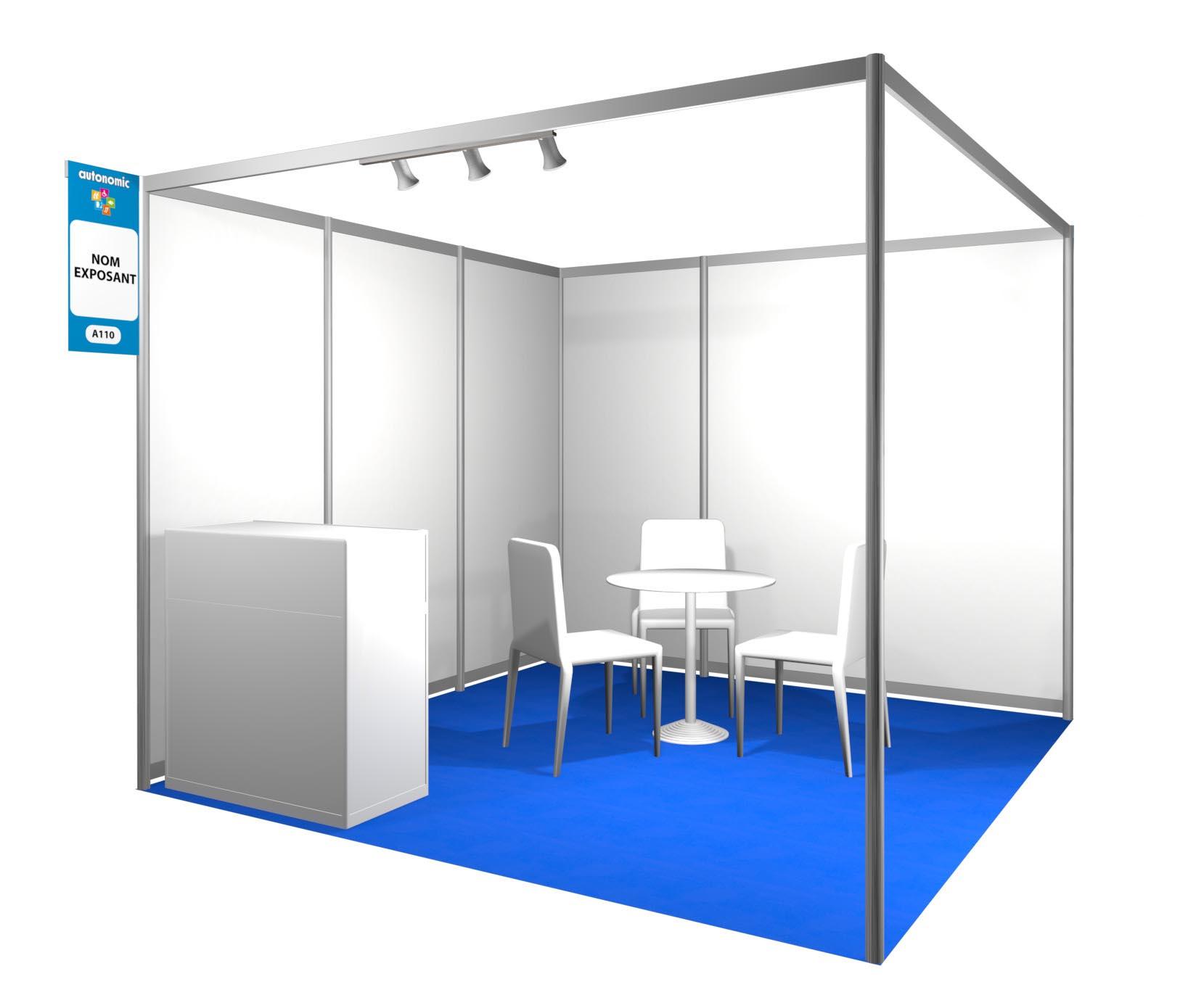 Exposer handica lyon le salon pour l 39 autonomie tous for Cloison stand salon