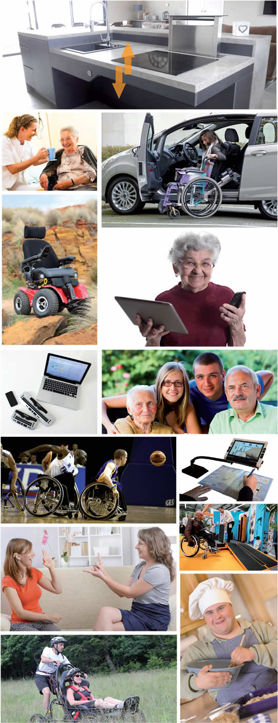 Photos personnes en                                           situation de handicap